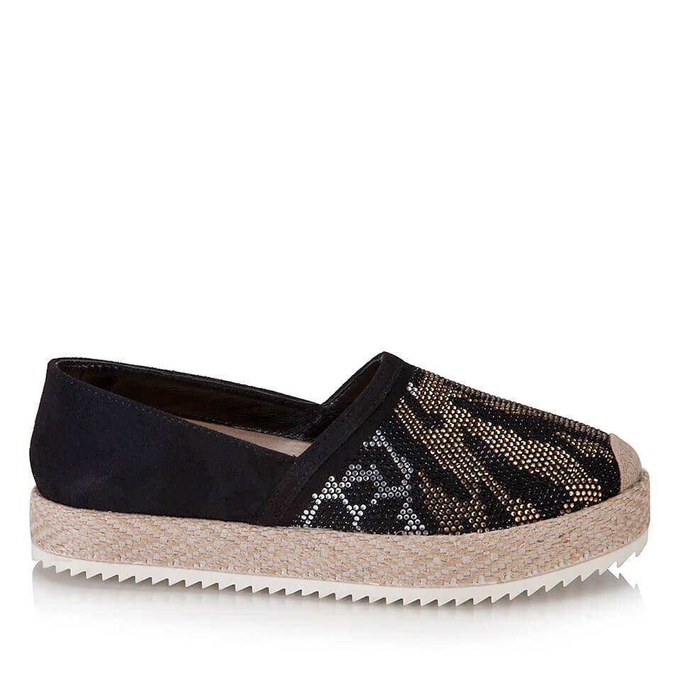 resm  Siyah Kadın Düz Ayakkabı