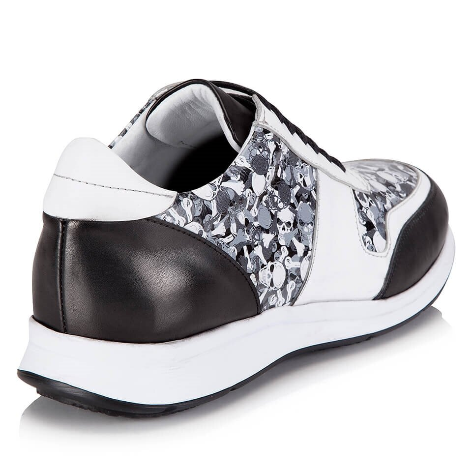 resm Hakiki Deri Beyaz Erkek Klasik Ayakkabı