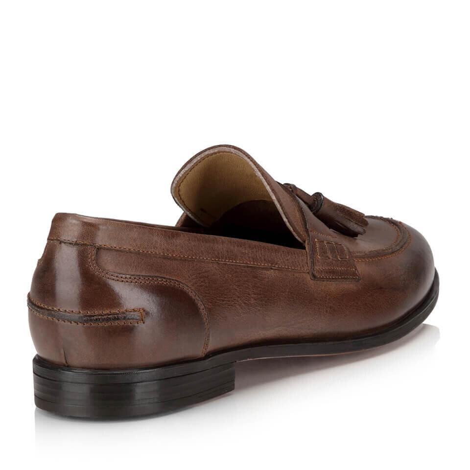 resm Hakiki Deri Bej Erkek Loafer