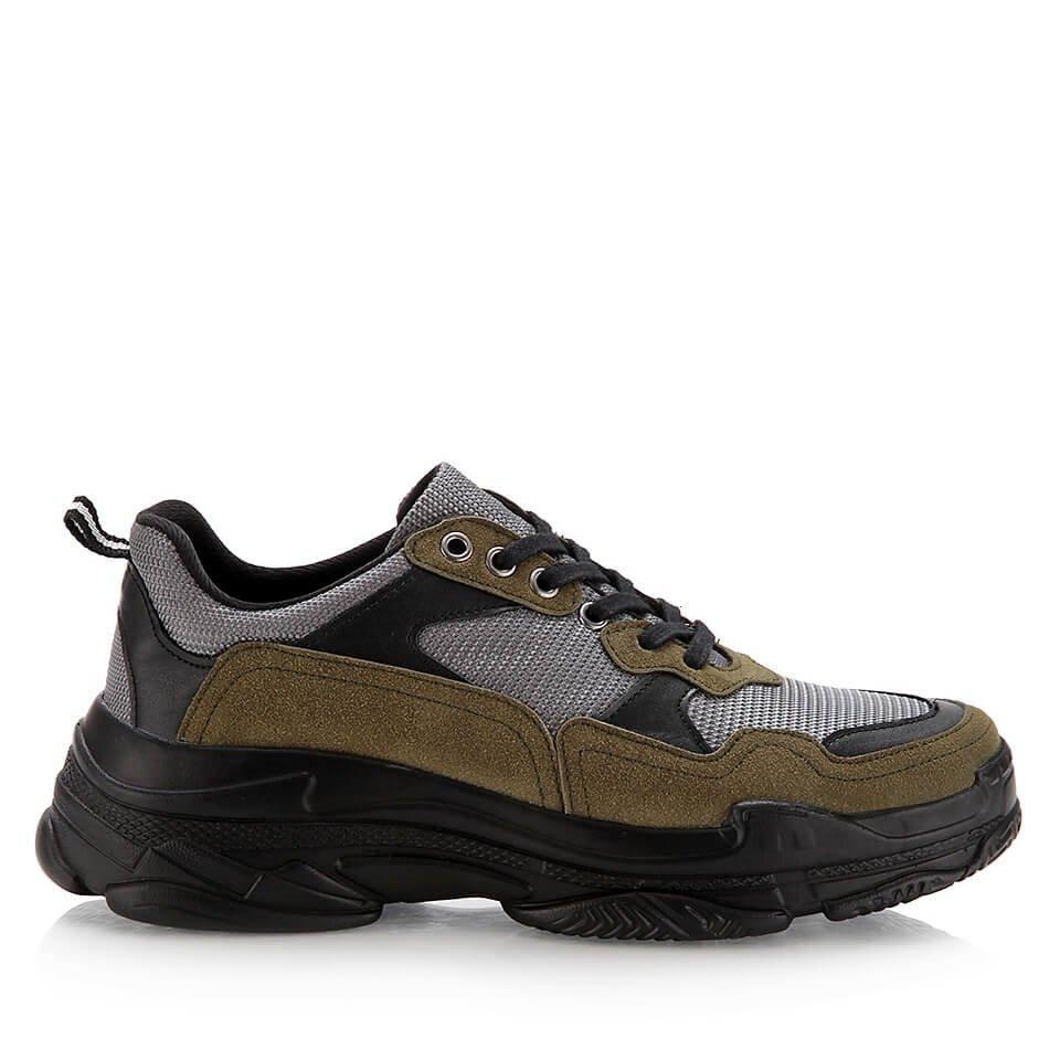 resm  Haki Erkek Spor Ayakkabı