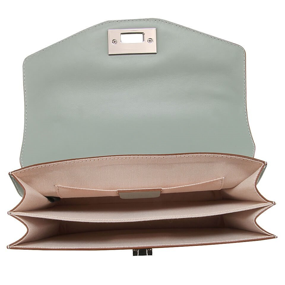 resm Hakiki Deri Mınt yeşili Çanta&Aksesuar Mini (Çapraz) Çanta