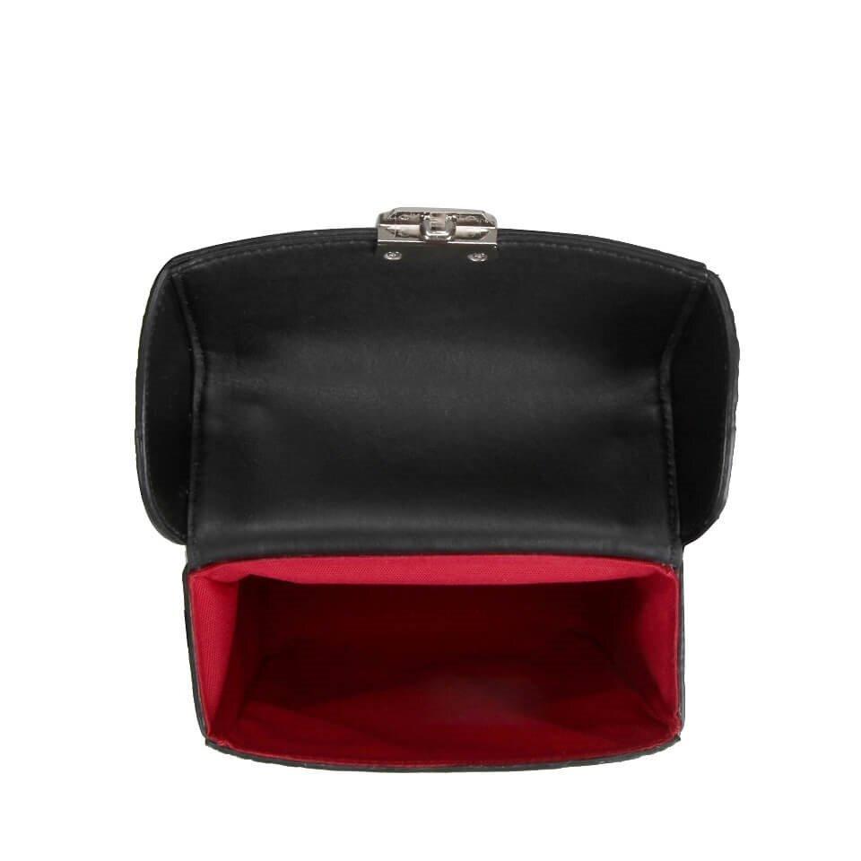 resm Hakiki Deri Siyah Çanta&Aksesuar Mini (Çapraz) Çanta