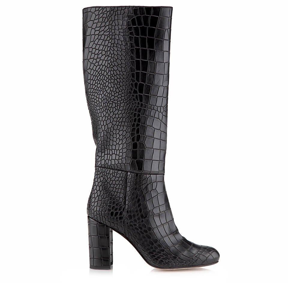resm  Siyah Kadın Çizme
