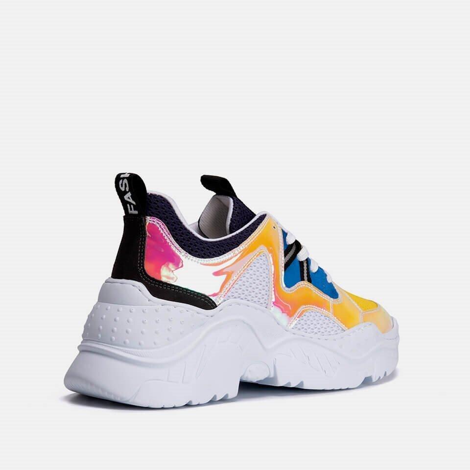 resm Tekstil Sarı Kadın Spor ayakkabı