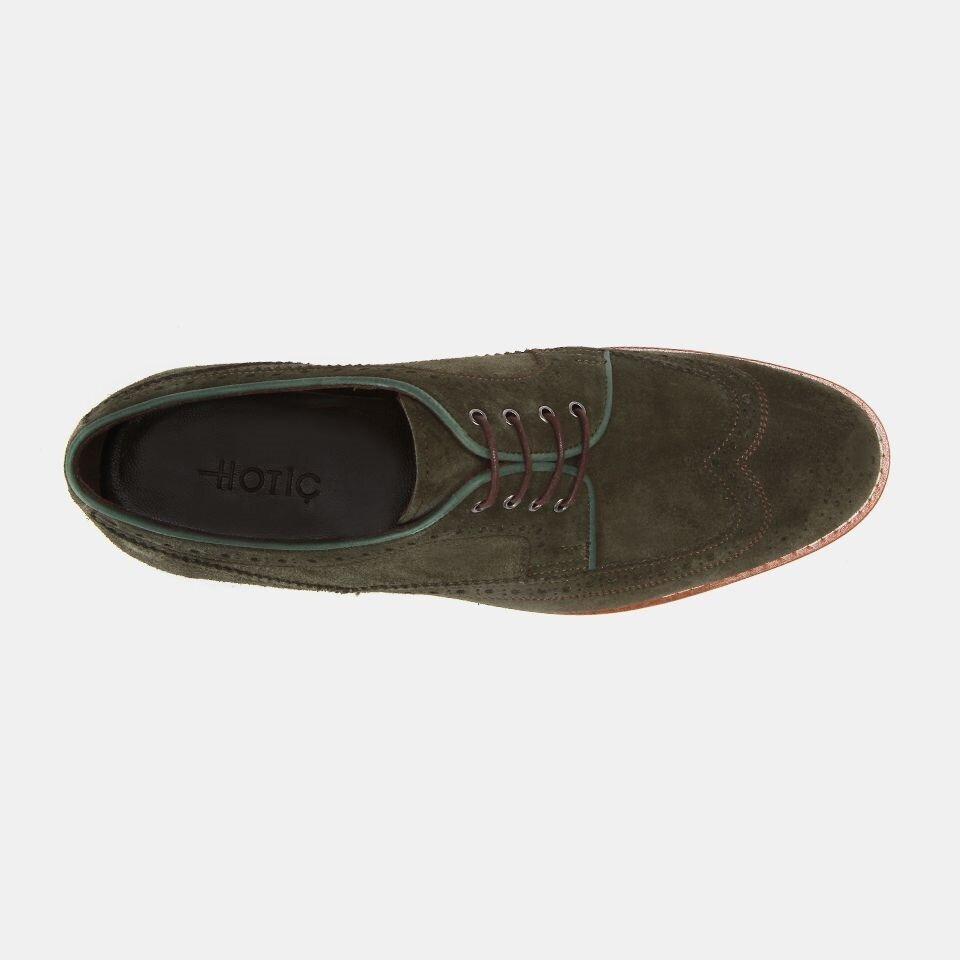 resm Hakiki Deri Haki Erkek Günlük Ayakkabı