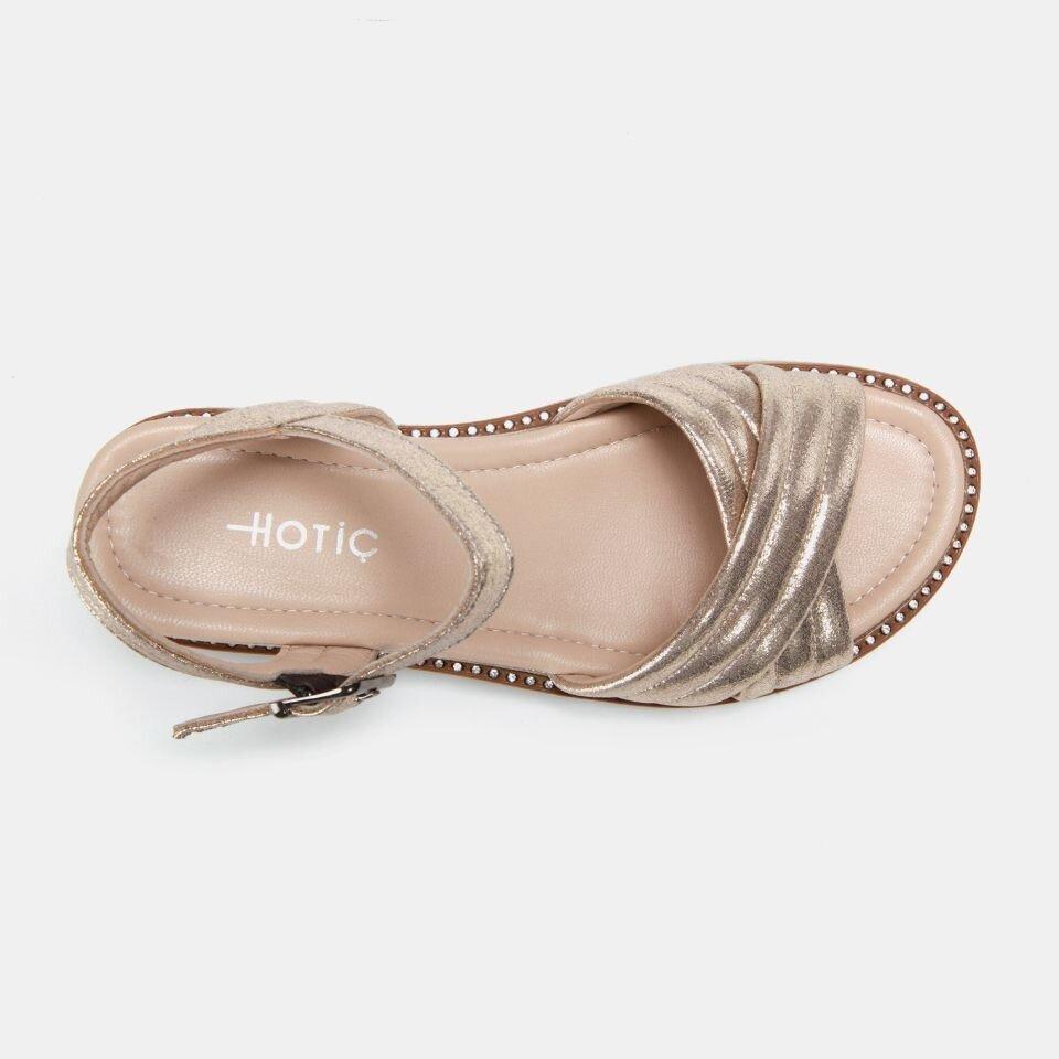 resm  Gold Kadın Düz sandalet
