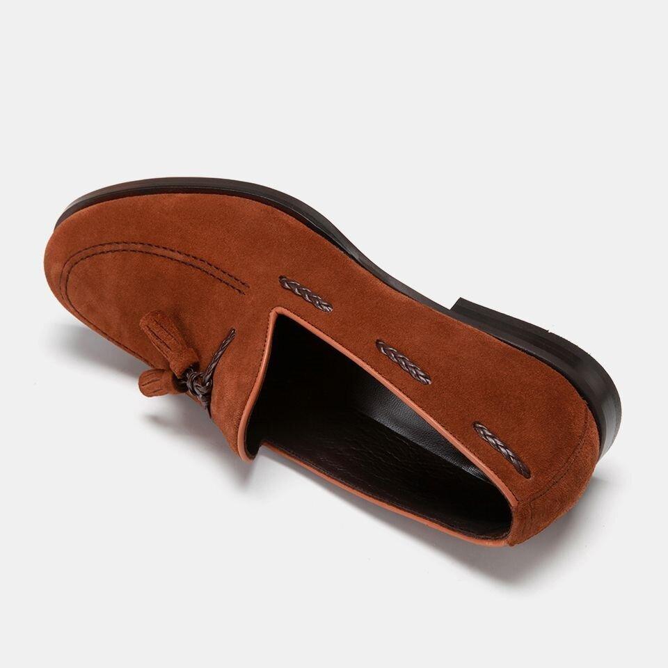 resm Hakiki Deri Taba Erkek Loafer