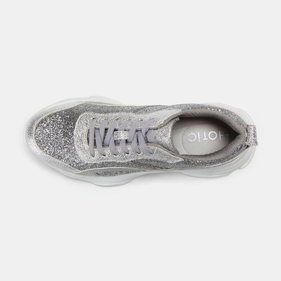 resm Tekstil Lame Kadın Spor Ayakkabı