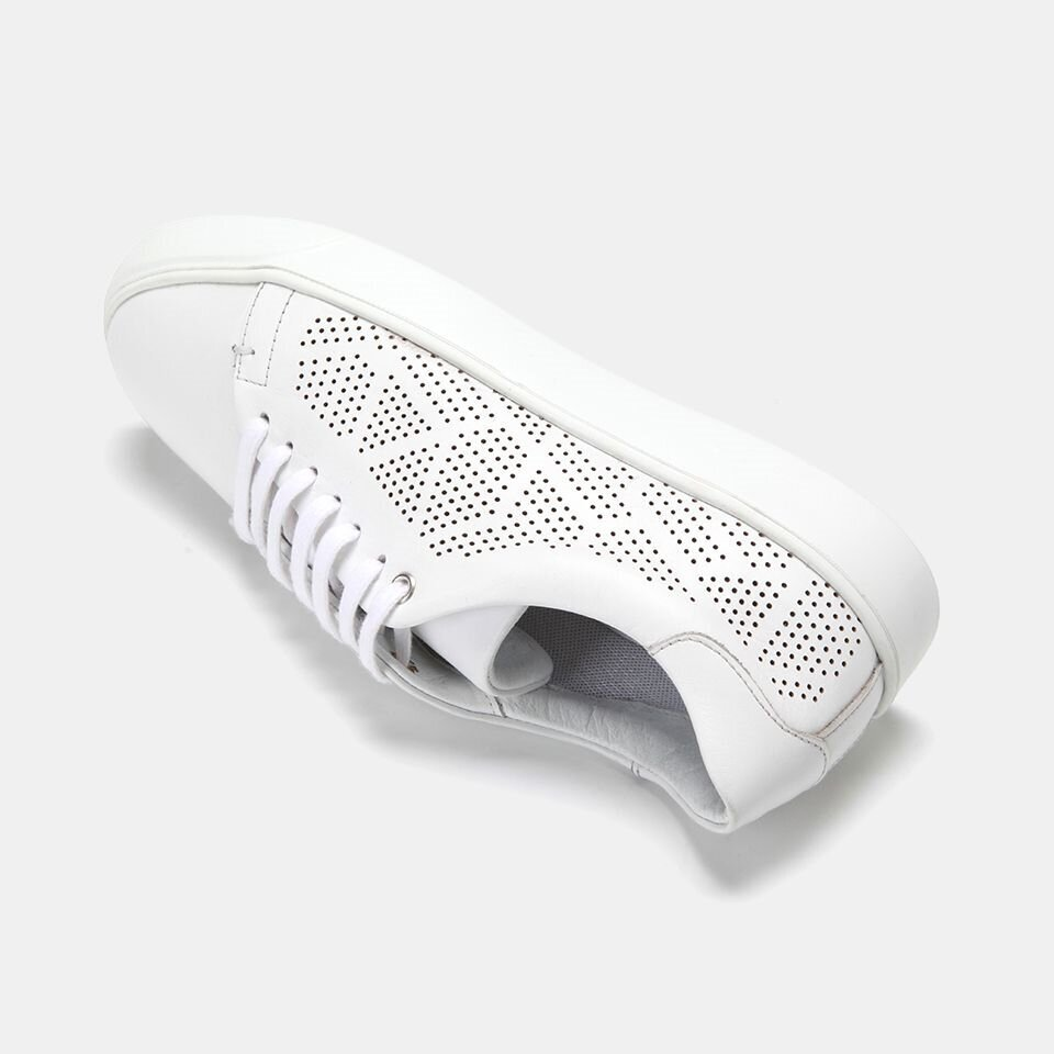 resm Hakiki Deri Beyaz Kadın Spor Ayakkabı