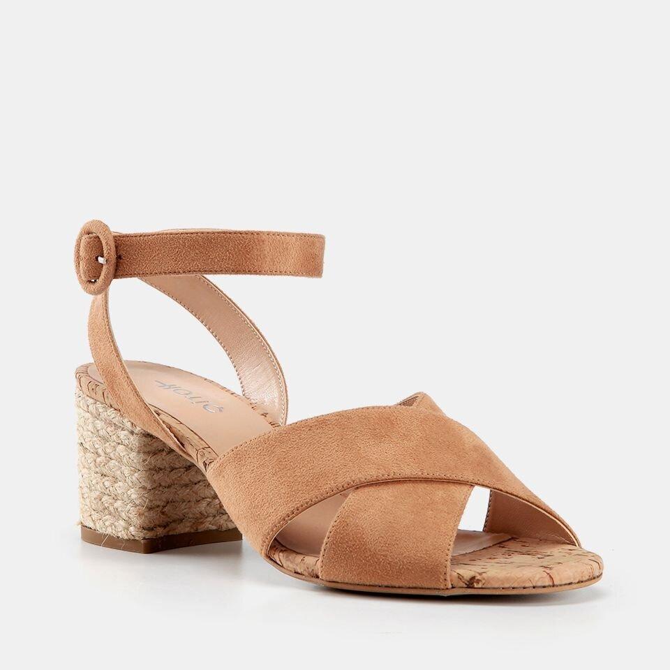 resm  Camel Kadın Topuklu Sandalet