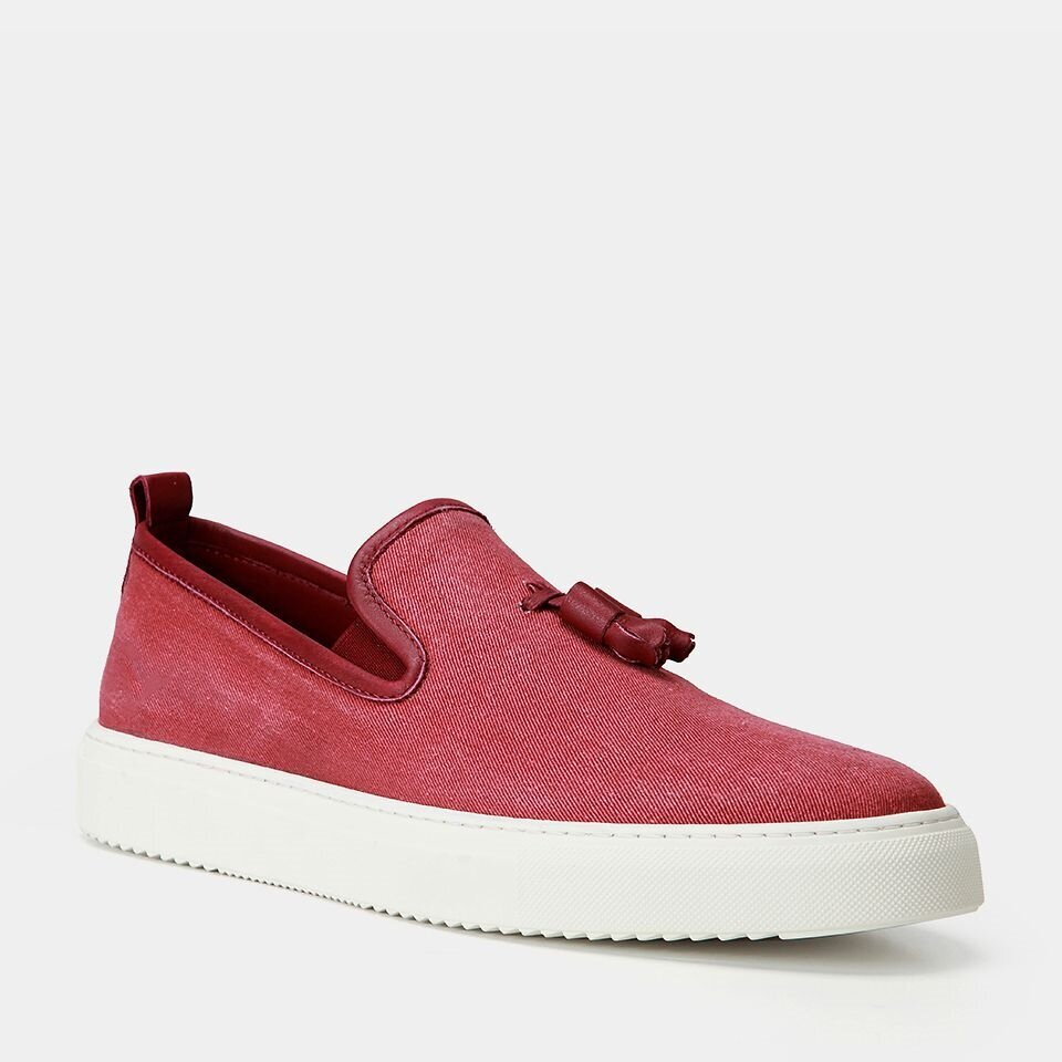 resm Tekstil Bordo Erkek Loafer
