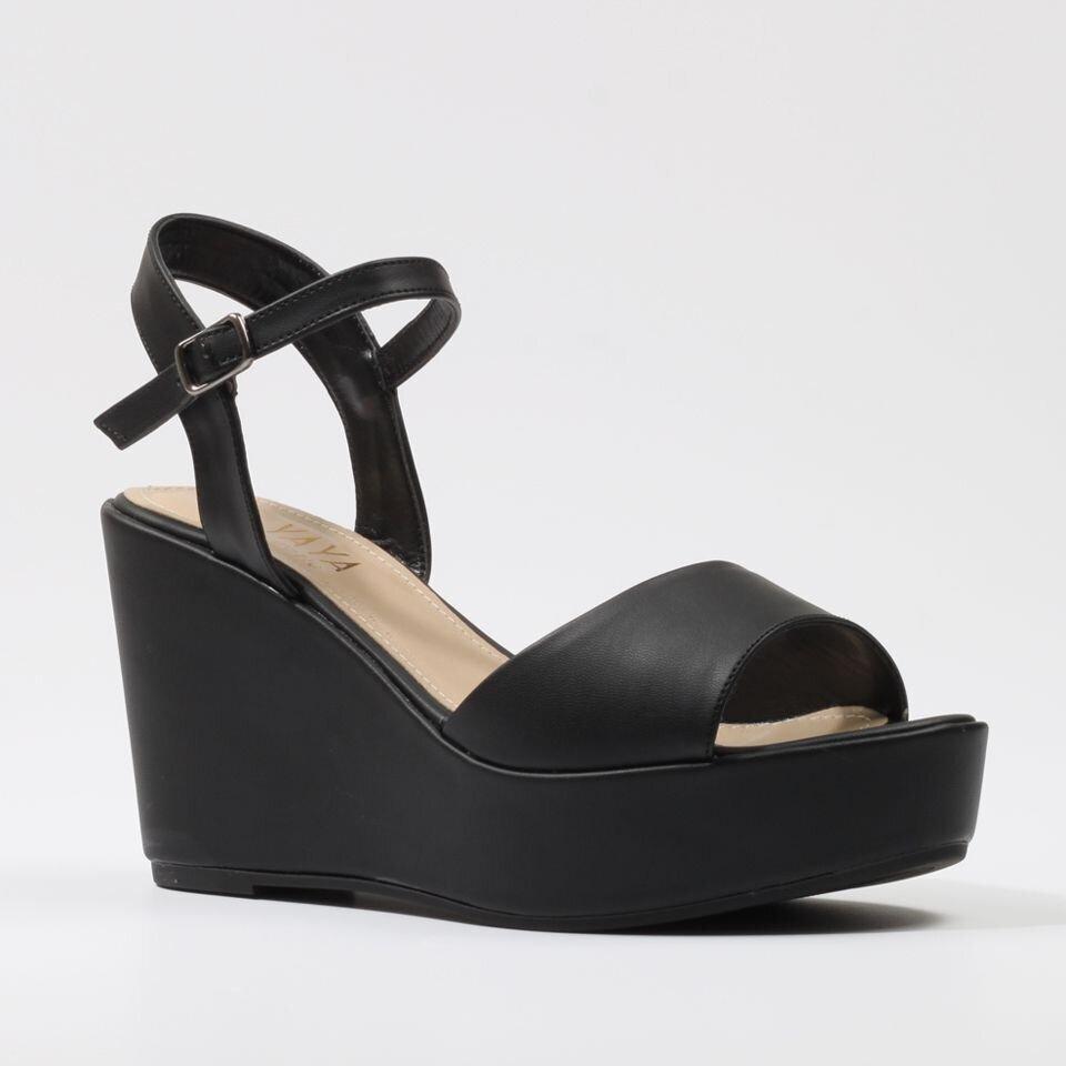 resm  Siyah Yaya Sandalet