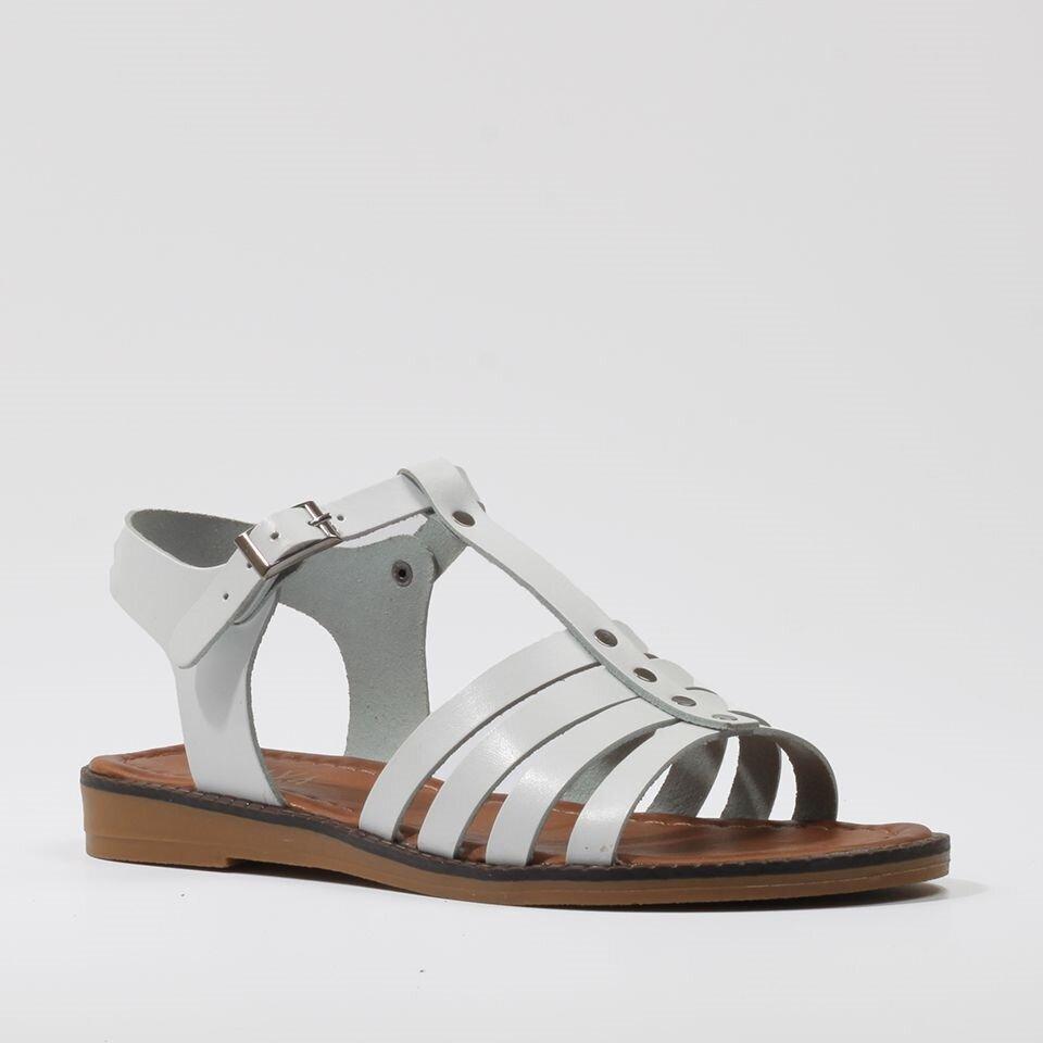 resm  Beyaz Yaya Sandalet