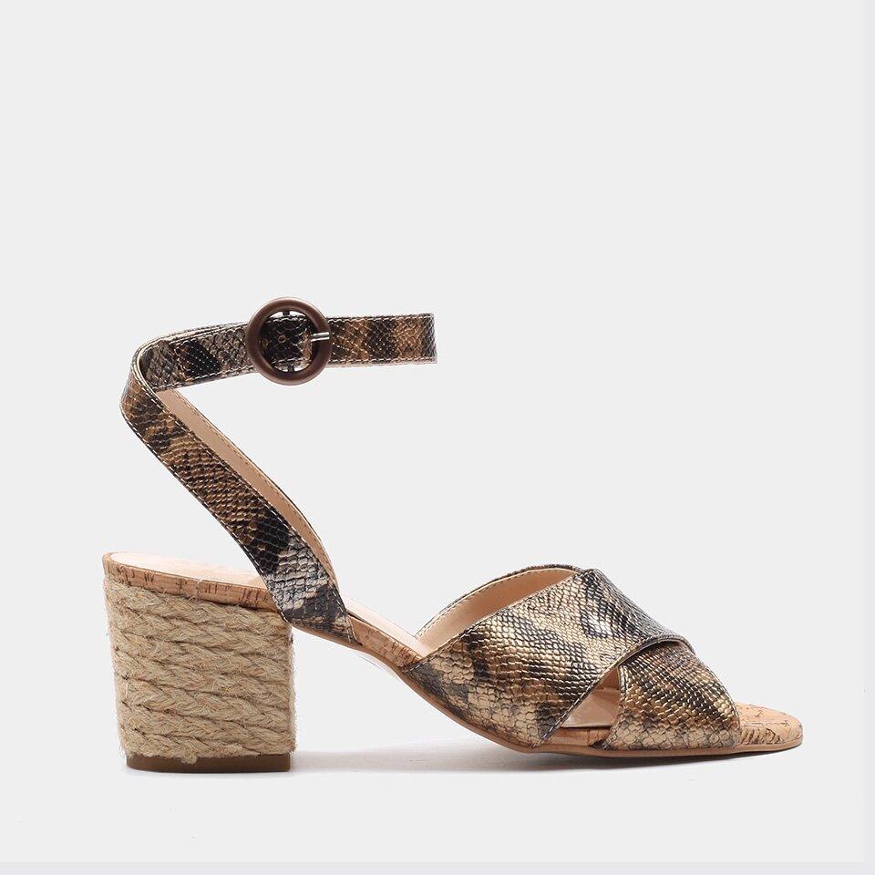 resm  Vizon Kadın Topuklu Sandalet