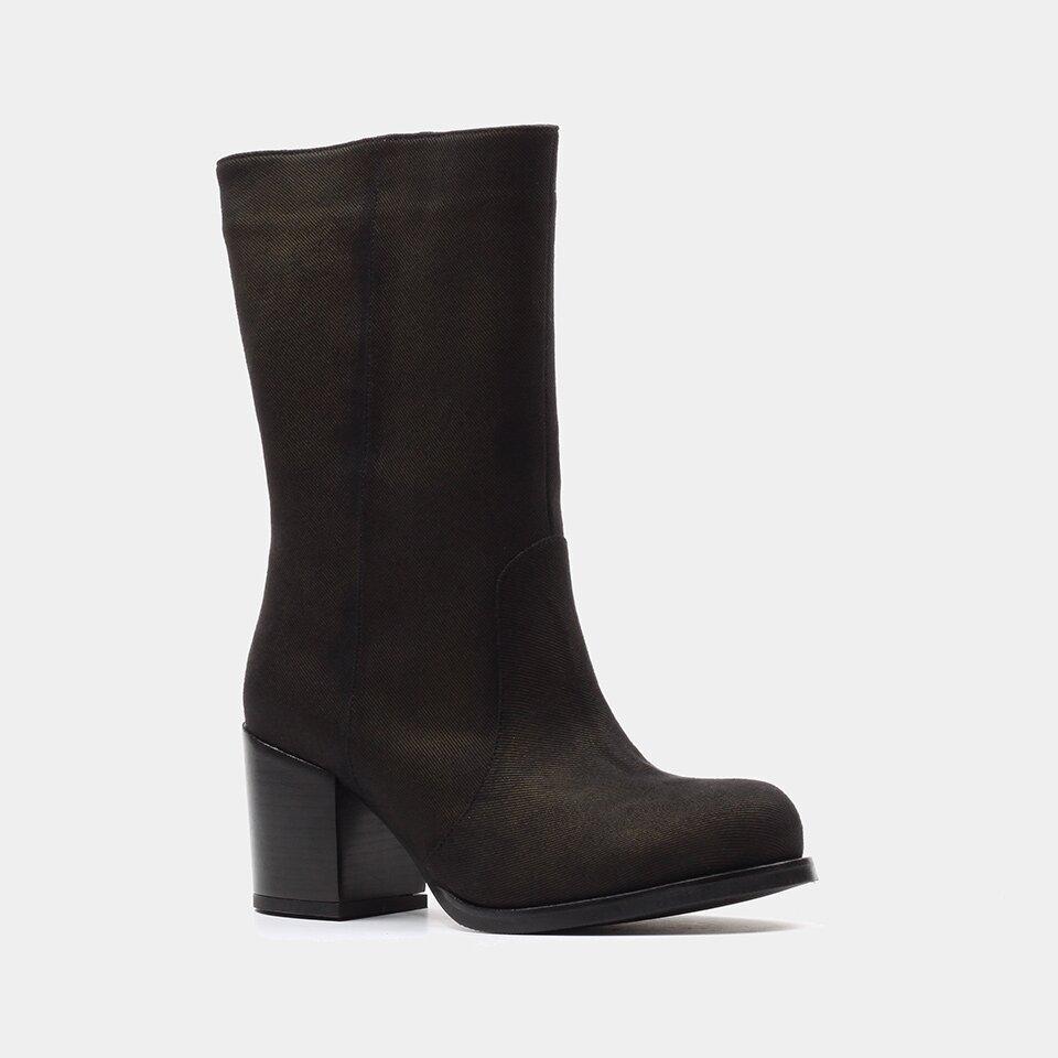 resm Tekstil Siyah Kadın Çizme