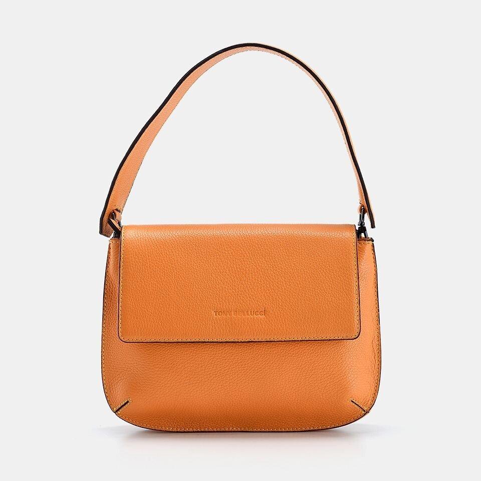 resm Hakiki Deri Sarı Kadın Mini (Çapraz) Çanta