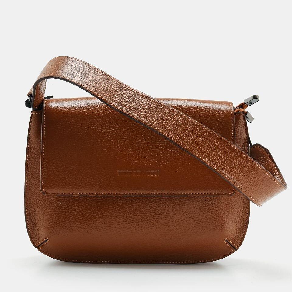 Hotiç - 03CAH158000A370 - Hakiki Deri Taba Kadın Mini (Çapraz) Çanta