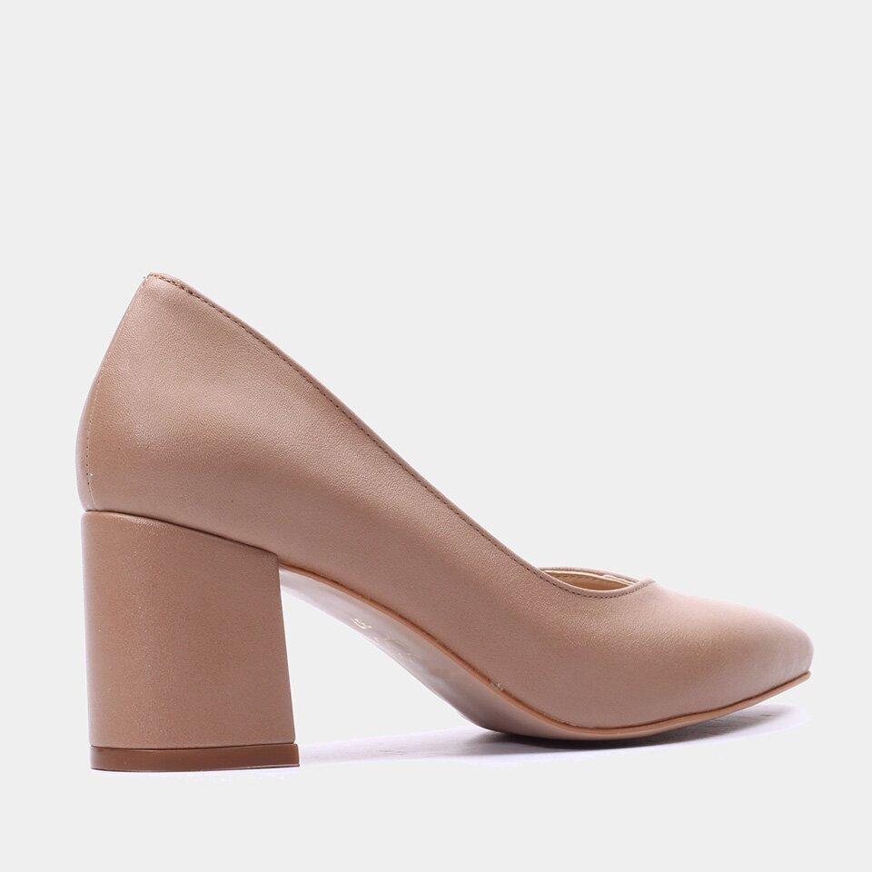 resm  Naturel Yaya Topuklu Ayakkabı