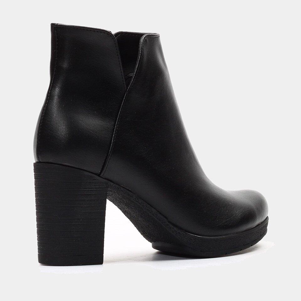 resm  Siyah Yaya Topuklu Bot