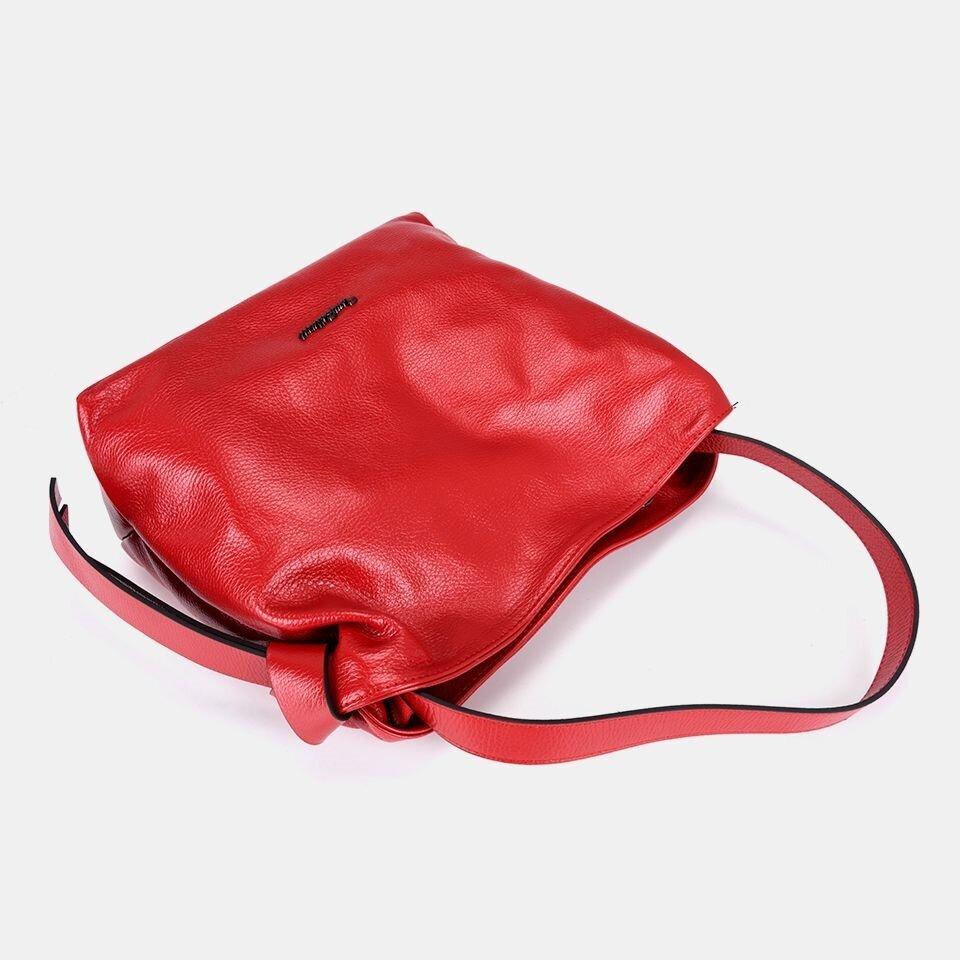 resm Hakiki Deri Kırmızı Çanta&Aksesuar Çanta