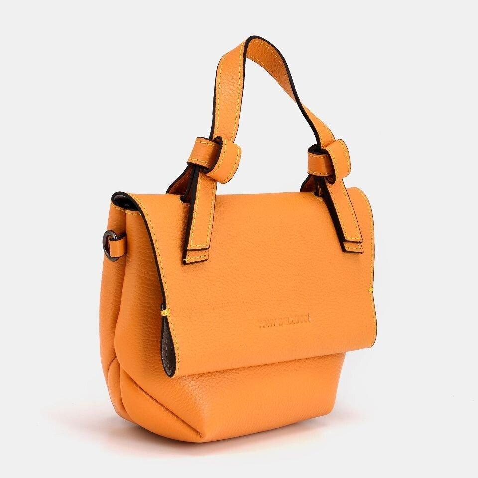 resm Hakiki Deri Sarı Çanta&Aksesuar Mini (Çapraz) Çanta
