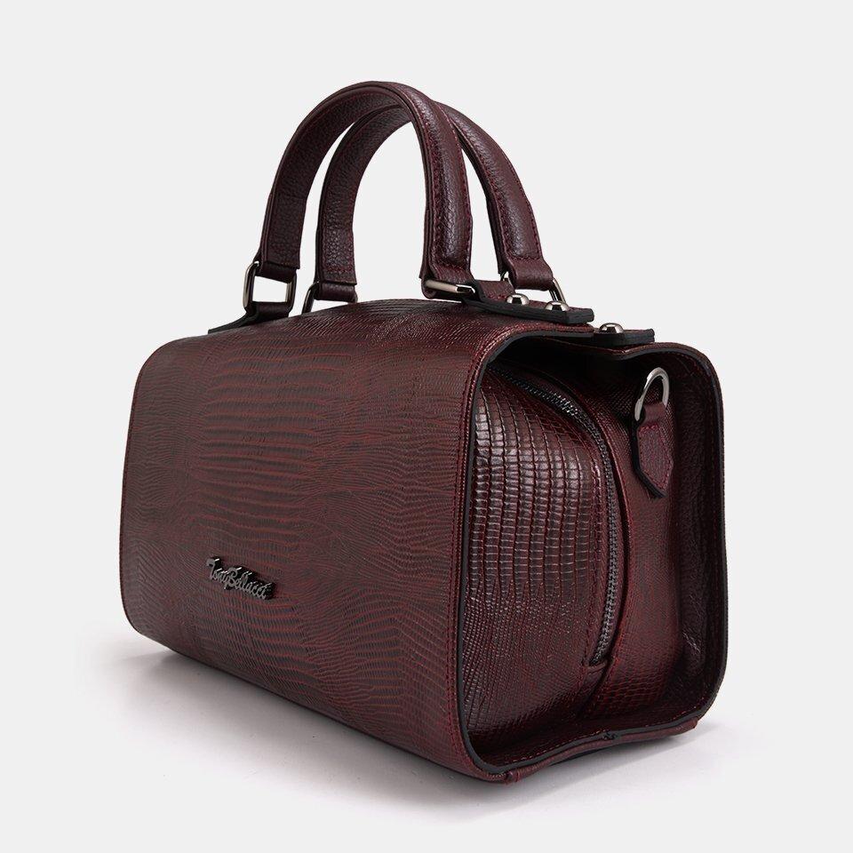 resm Hakiki Deri Bordo Çanta&Aksesuar Mini (Çapraz) Çanta