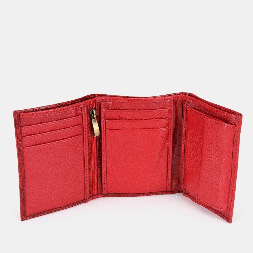 resm Hakiki Deri Kırmızı Çanta&Aksesuar Cüzdan