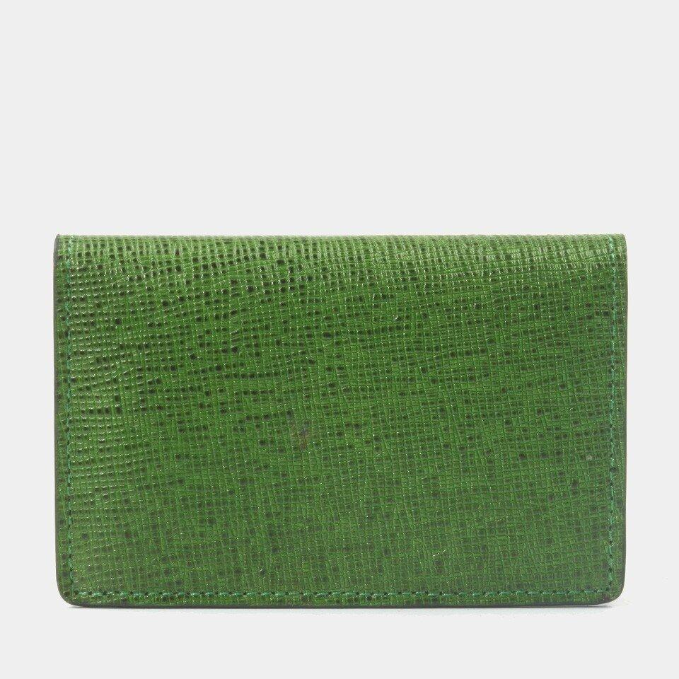 resm Hakiki Deri Yeşil Erkek Cüzdan