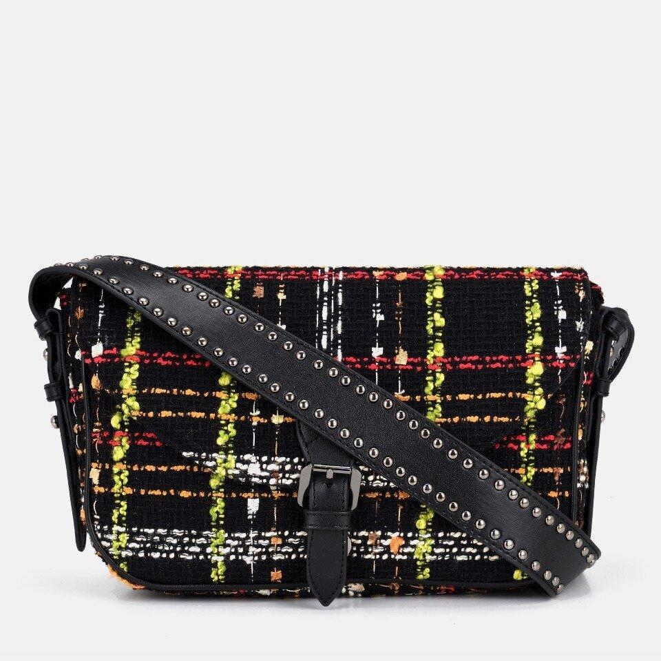 resm Tekstil Siyah Kadın Mini (Çapraz) Çanta