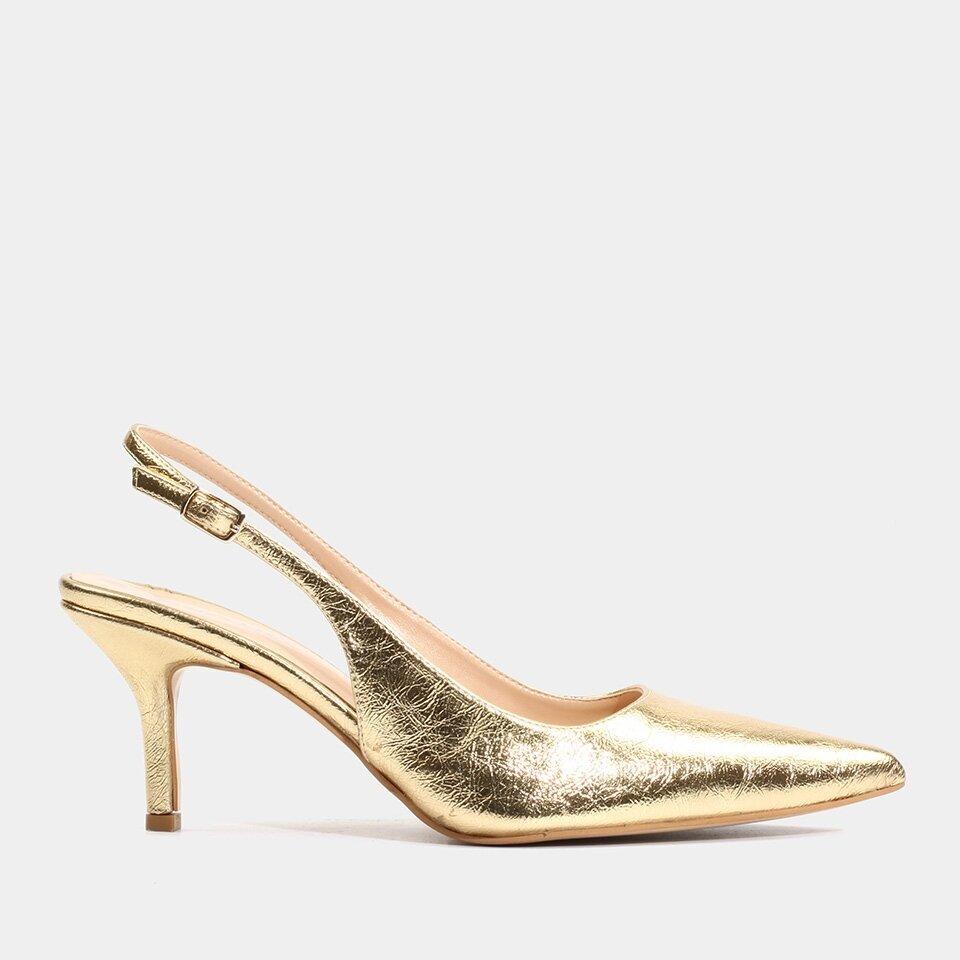 Hotiç - 01AYH176070A540 - Gold Kadın Stiletto