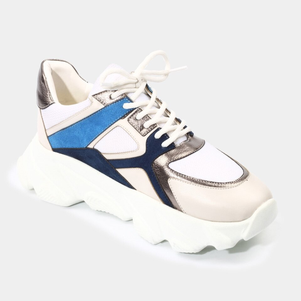 resm  Mavi Yaya Spor Ayakkabı