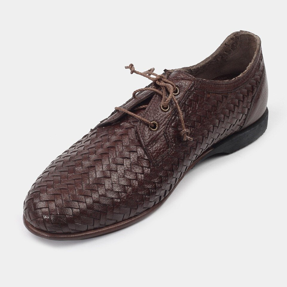 resm Hakiki Deri Taba Erkek Günlük Ayakkabı