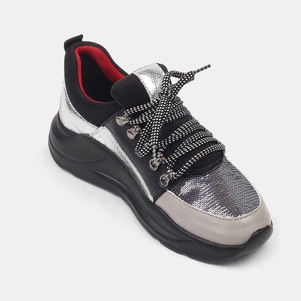 resm  Gri Kadın Spor Ayakkabı