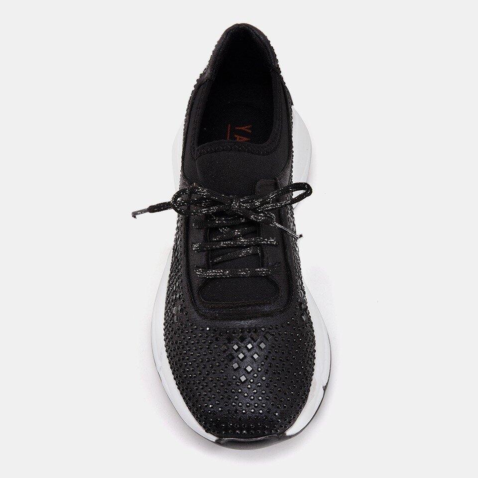 resm TEKSTİL Siyah Yaya Spor Ayakkabı