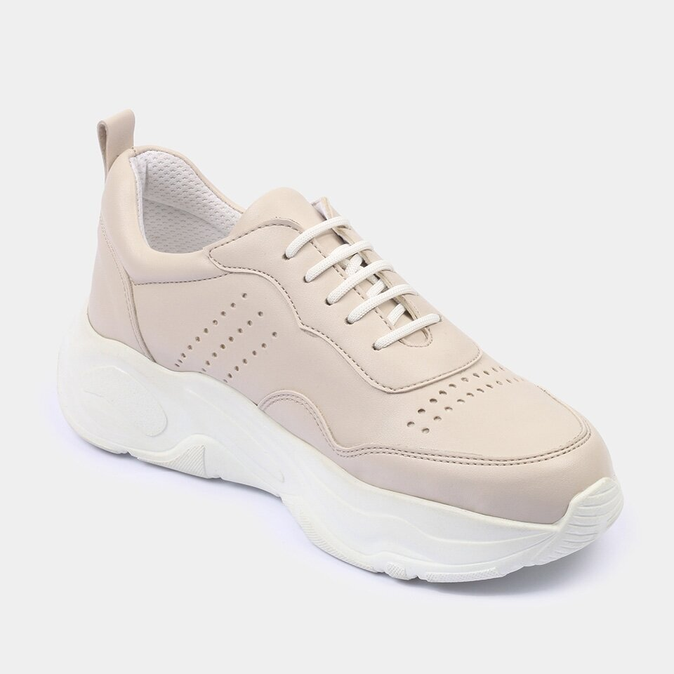 resm  Bej Yaya Spor Ayakkabı