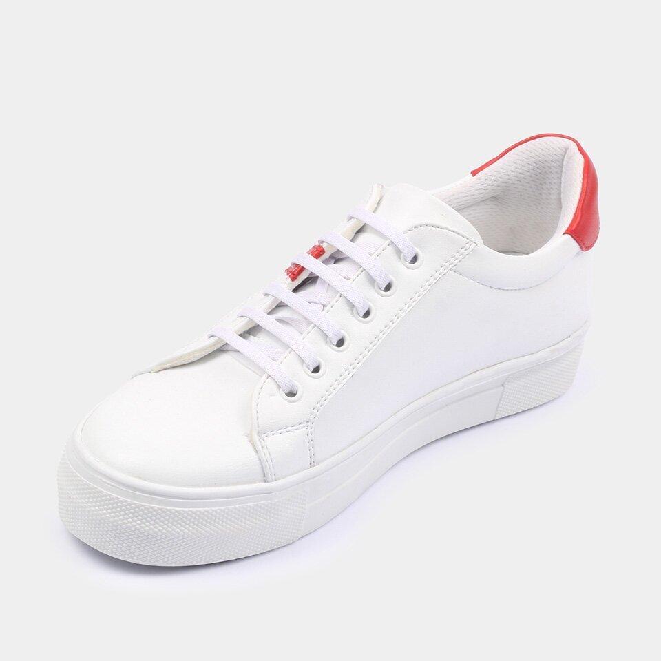 resm  Beyaz Yaya Spor Ayakkabı