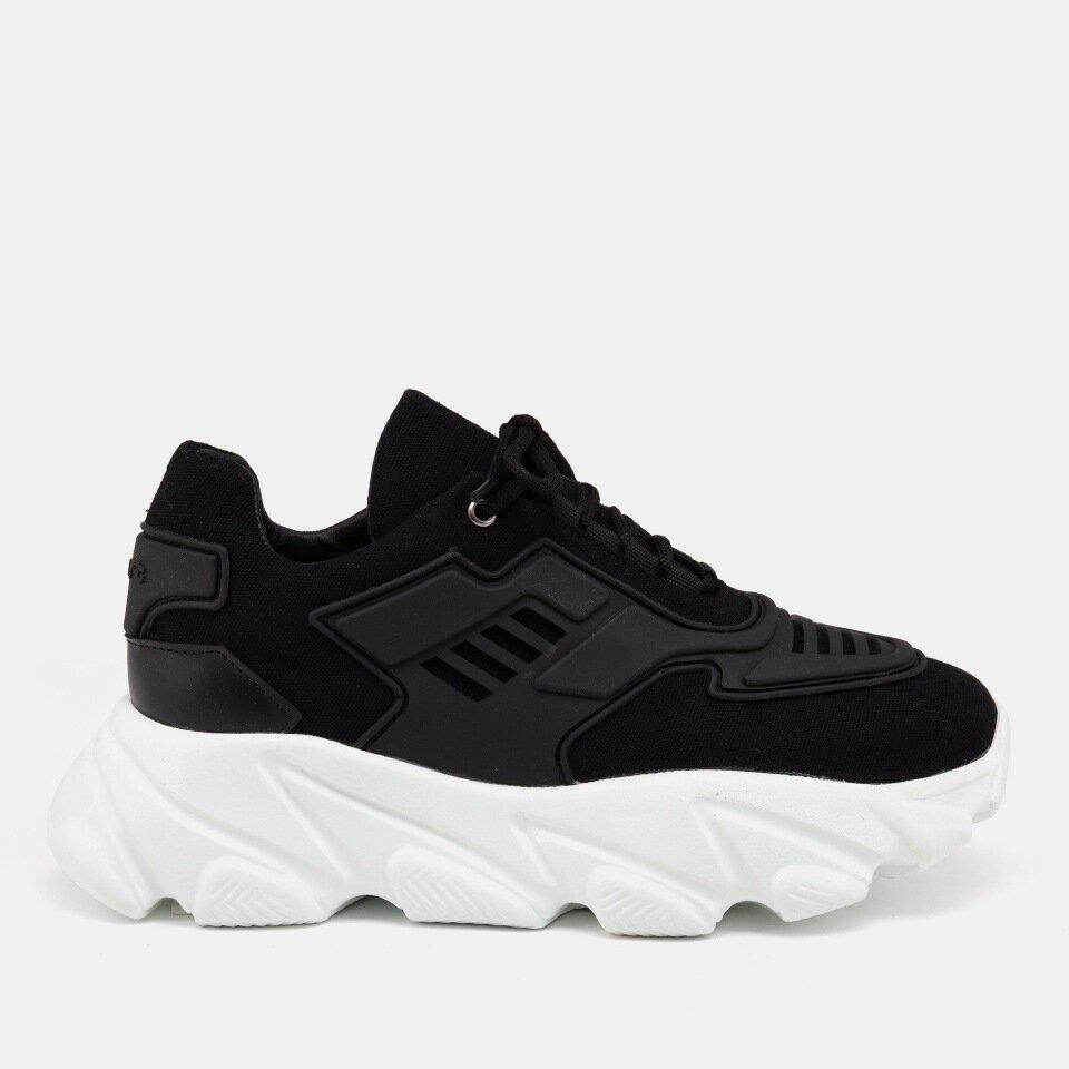 resm Tekstil Siyah Kadın Spor Ayakkabı