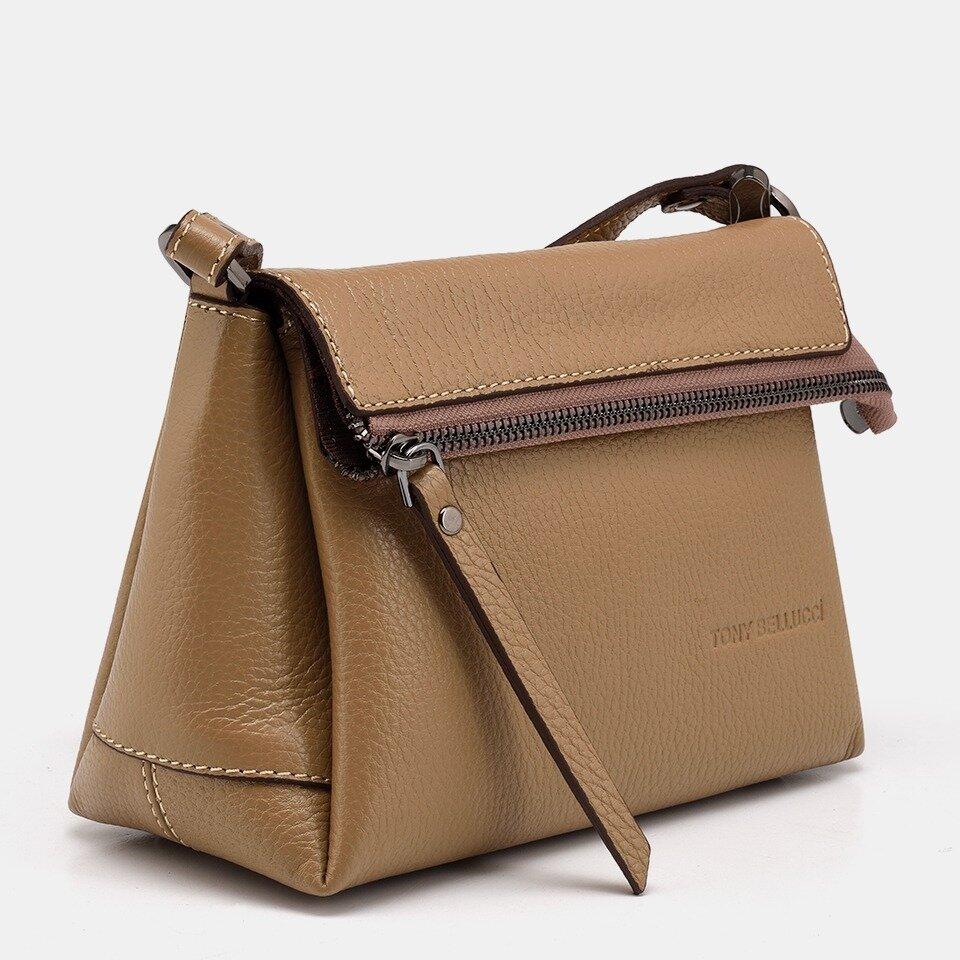 resm Hakiki Deri Camel Kadın Mini (Çapraz) Çanta