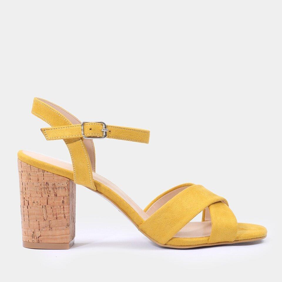 resm Hardal Kadın Topuklu Sandalet