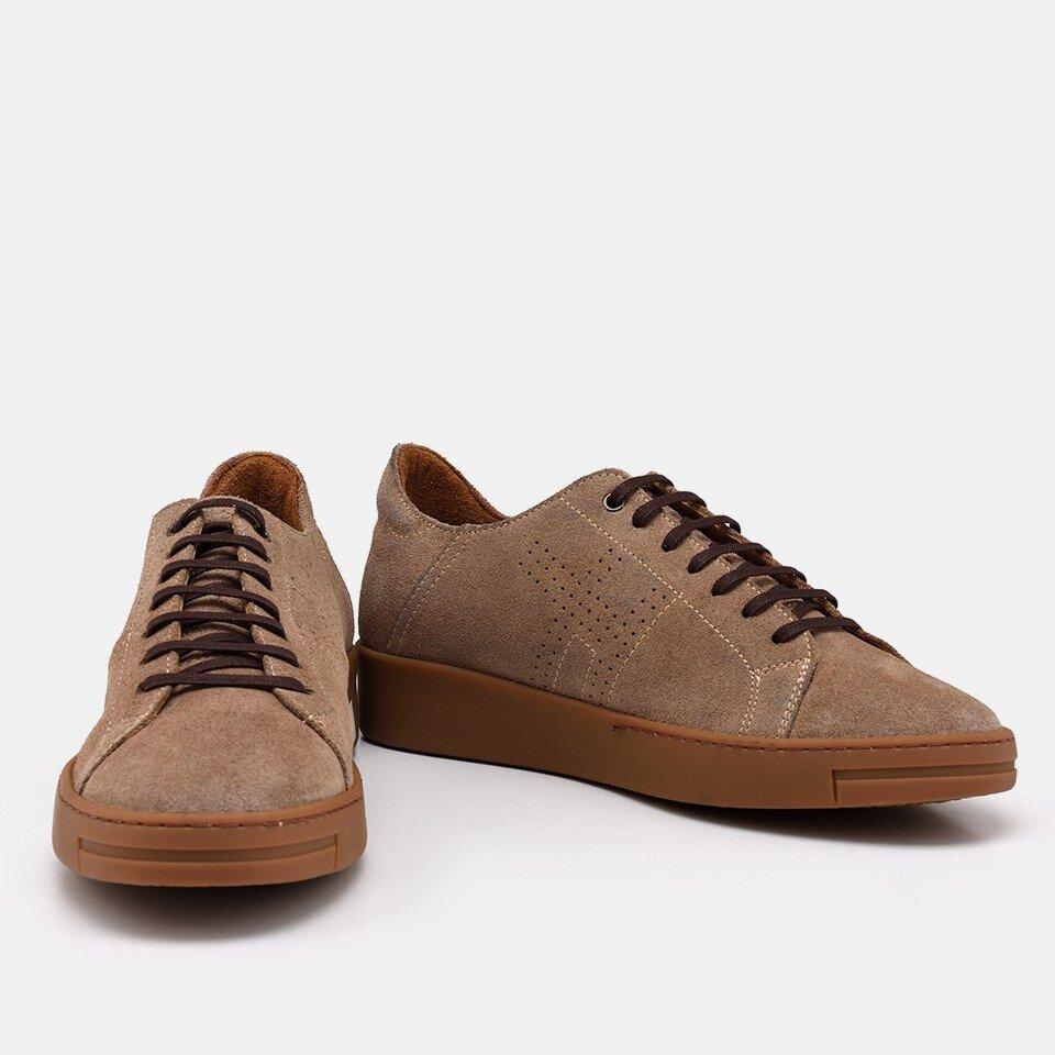 resm Hakiki Deri Vizon Erkek Günlük Ayakkabı