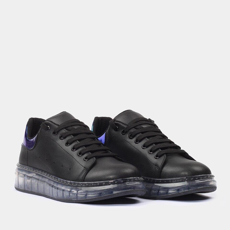 resm Yaya Kadın Siyah Spor Ayakkabı