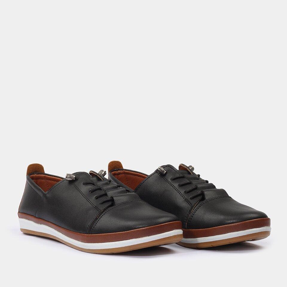 resm Yaya Siyah Günlük Ayakkabı