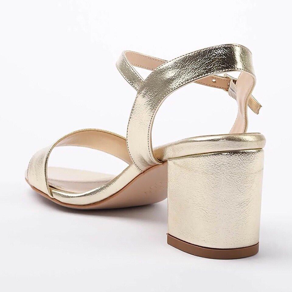 resm Yaya Gold Sandalet