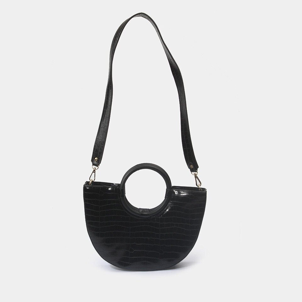 resm Siyah Kadın Çanta