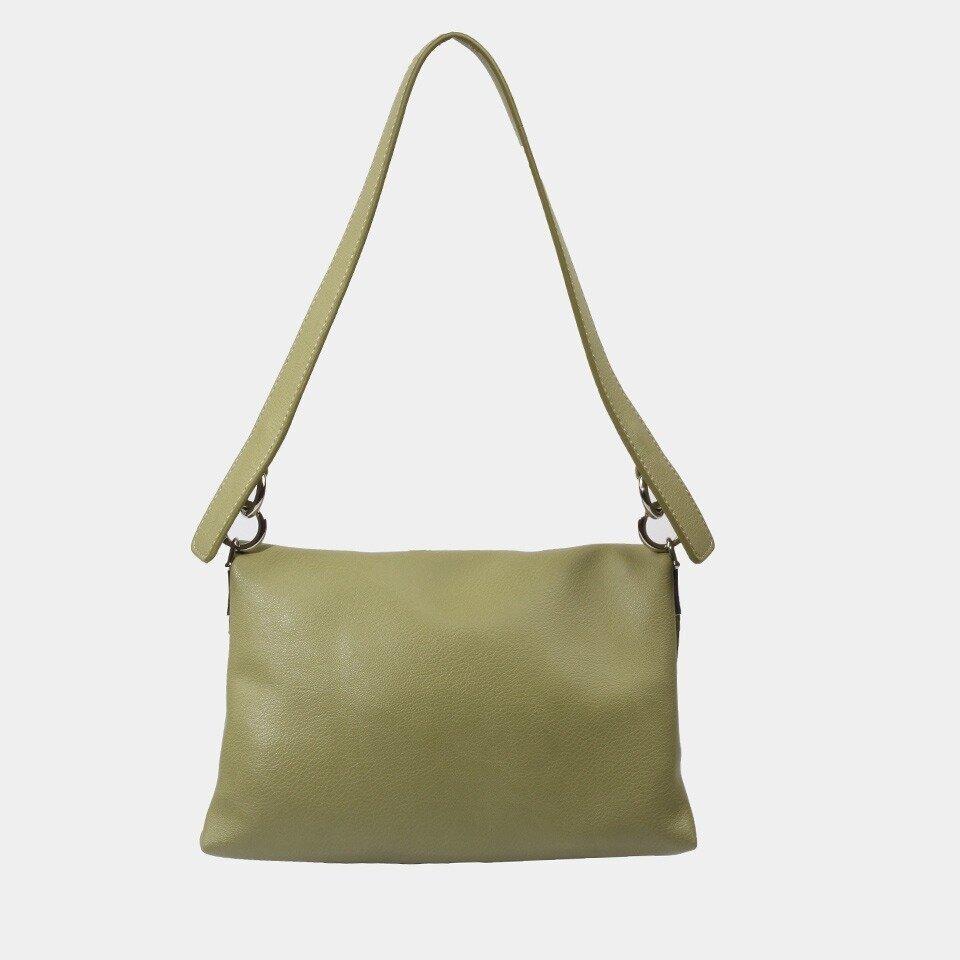 resm Yeşil Kadın Çanta