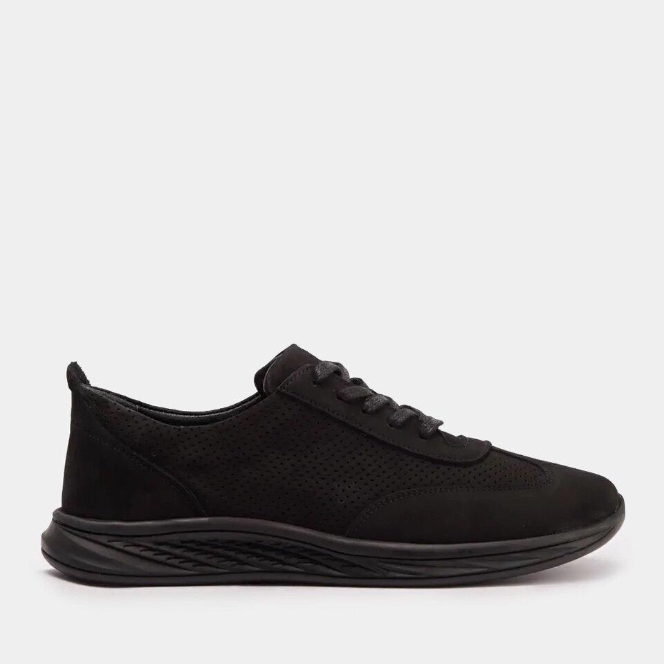 resm Hakiki Deri Siyah Yaya Spor Ayakkabı