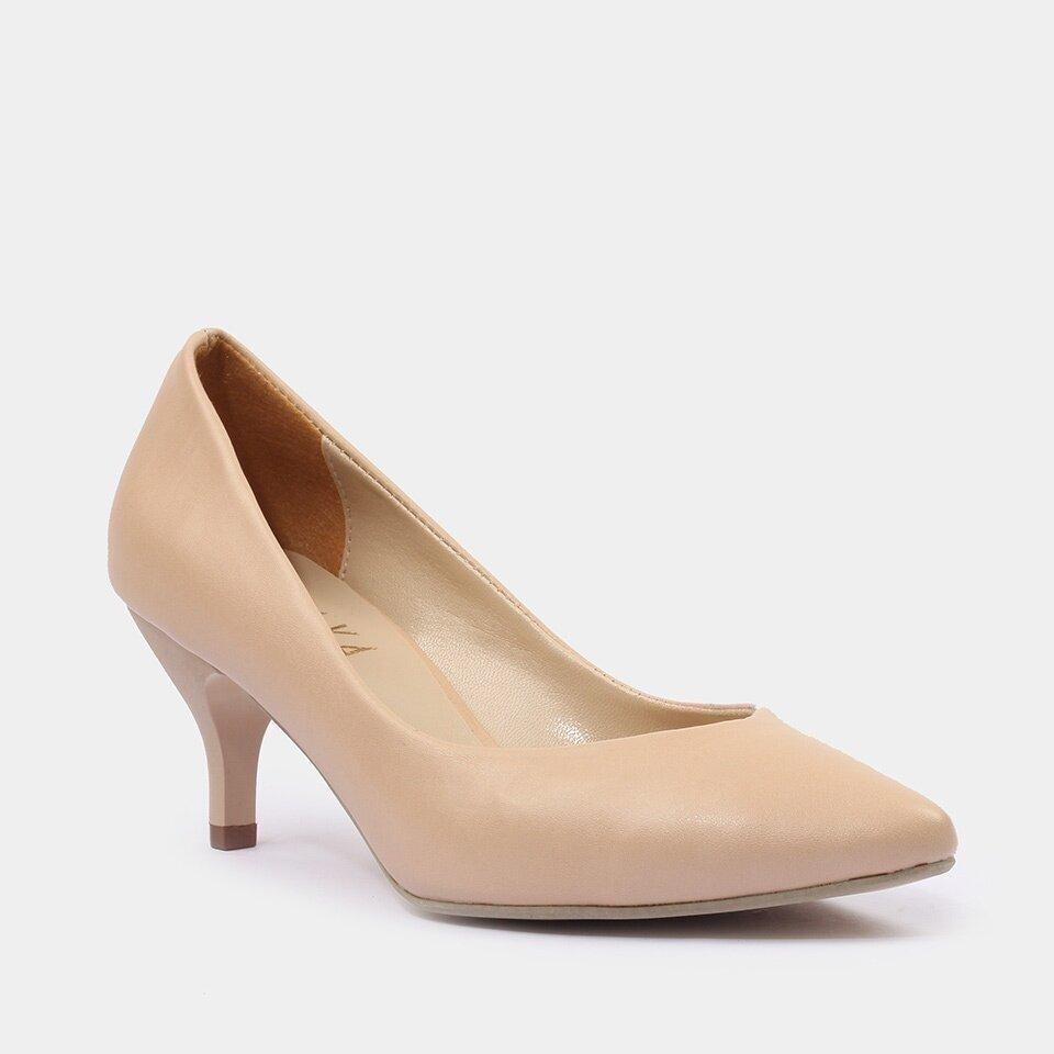resm Bej Yaya Kadın Topuklu Ayakkabı