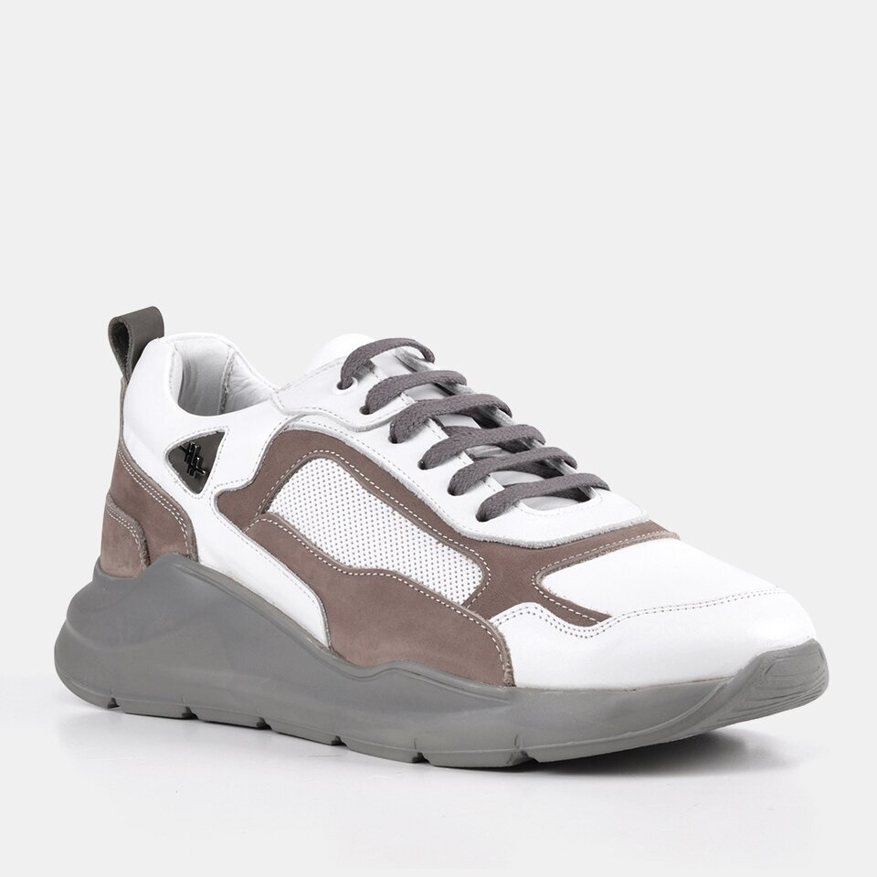resm Hakiki Derİ Erkek Beyaz Spor Ayakkabı