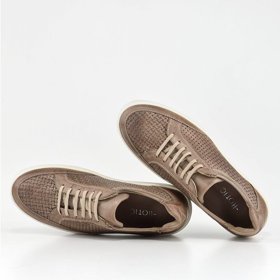 resm Hakiki Deri Vizon Erkek Spor Ayakkabı