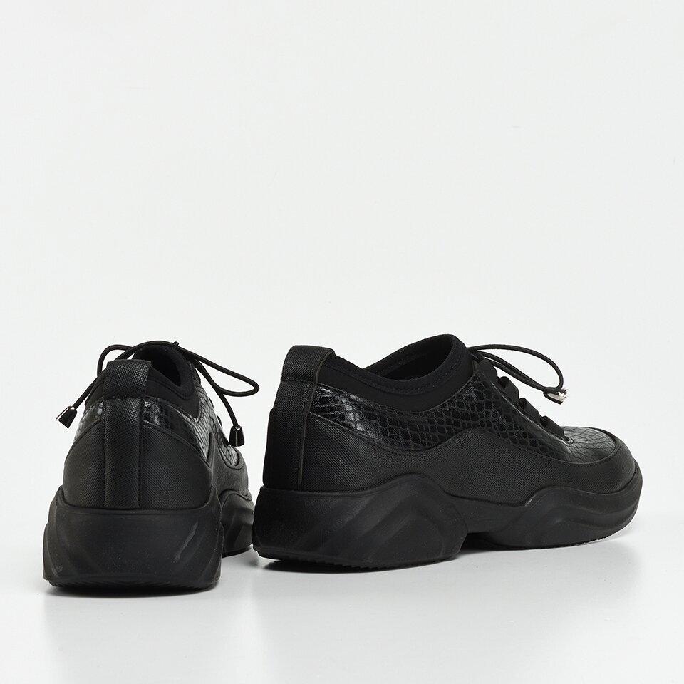 resm Siyah Yaya Kadın Spor Ayakkabı